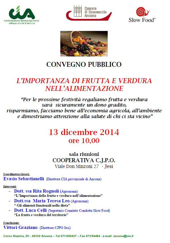 Convegno pubblico 13 Dicembre 2014