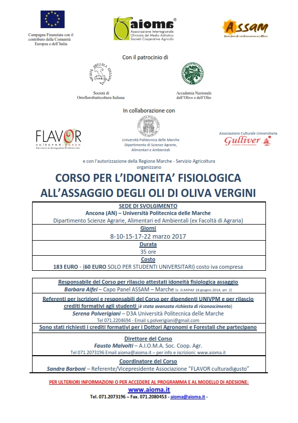 LOCANDINA Corso analisi sensoriale AIOMA-D3A 2017_001