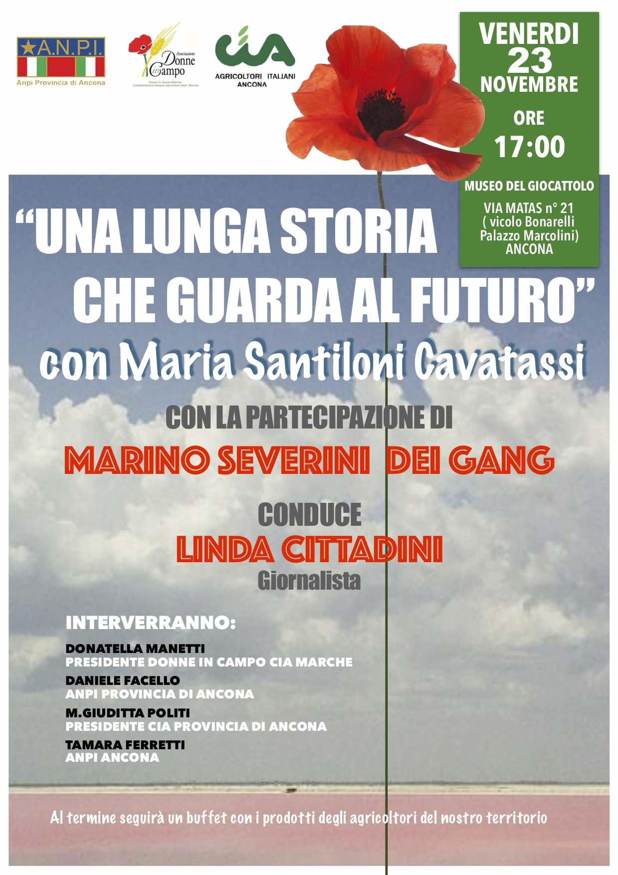 Evento Maria 23_11_18 poster
